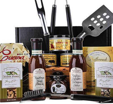 backyard bbq gift set