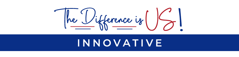 the difference is us innovative