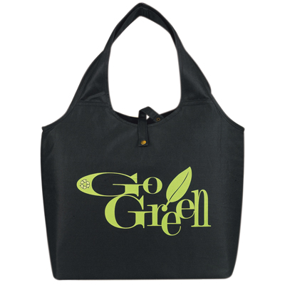 NEW ITEM - E Green Roll Up Tote