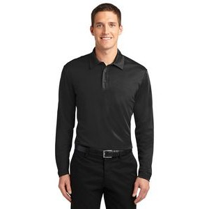 Port Authority® Silk Touch™ Performance Long Sleeve Polo Shirt