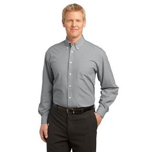 Port Authority® Plaid Pattern Easy Care Shirt