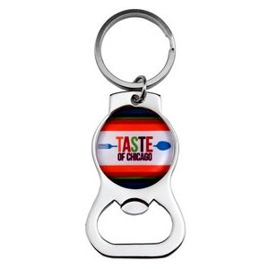 Stock Key Tag w/ Bottle Opener