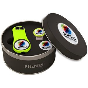 Pitchfix® Fusion 2.5 Golf Divot Tool Deluxe Hat Clip Gift Set