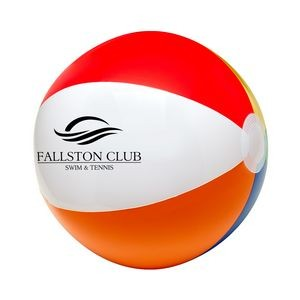 "12"" 6 Color Beach Ball"