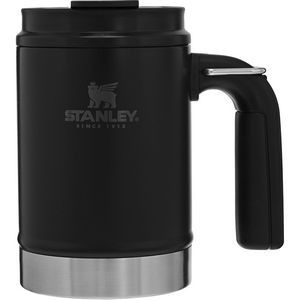 Stanley PMI Big Grip Camp Mug, 16oz, Matte Black