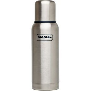 Stanley Adventure Stainless Steel Vacuum Bottle, 25oz, Stainless Steel