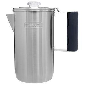 Stanley PMI Cool Grip Camp Percolator, 6 Cup, Stainless Steel