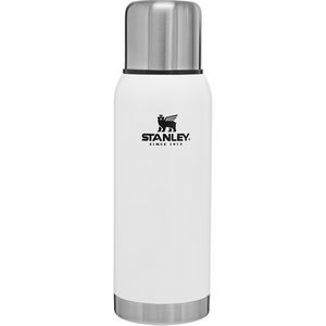 Stanley PMI Stainless Steel Vacuum Bottle, 1.1Qt, Polar