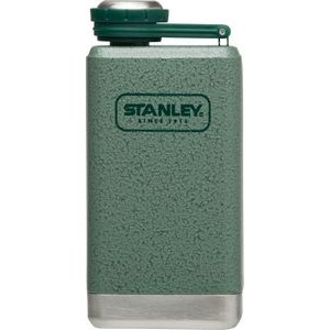 Stanley Adventure SS Flask, 5oz, Hammertone Green