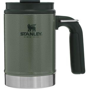 Stanley PMI Big Grip Camp Mug, 16oz, Hammertone Green