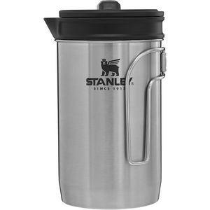 Stanley PMI All In One Brew and Boil French Press, Stainless Steel