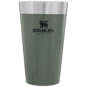 Stanley PMI Stacking Beer Pint, 16oz, Hammertone Green