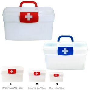 Medicine Emergency Kit Storage Organizers / Family Boxes / Cases / Containers