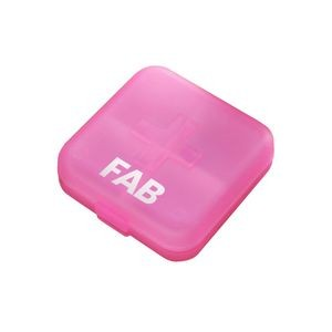 Four Compartment Pill Box