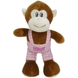 Monkey Heart, A Plush Toy Customized for Your Promo