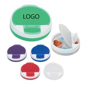 Round Snap Lid Pill Case