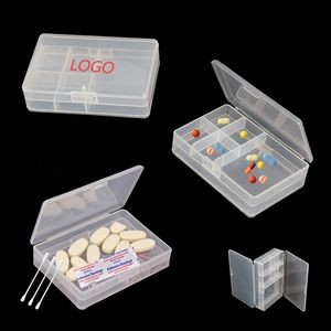 Double Side Pill Case Tablet Box