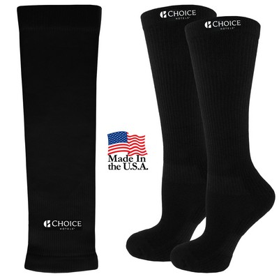 Compression Arm Sleeve and Compression Socks Combo