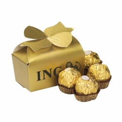 Large Bow Gift Boxes - Ferrero Rocher® (4 pieces)