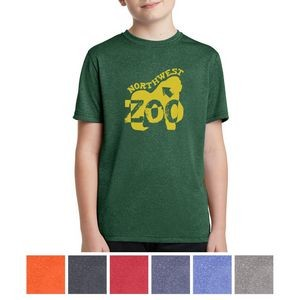 Sport-Tek® Youth Heather Contender™ Tee
