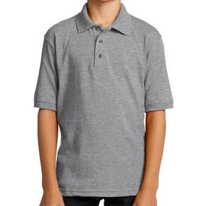 Port & Company® Youth Core Blend Jersey Knit Polo