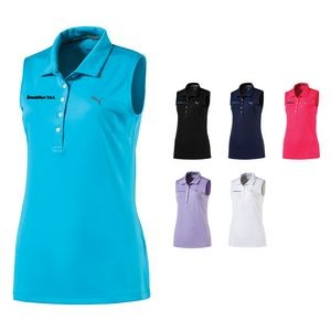 Ladies Puma Sleeveless Pounce Polo