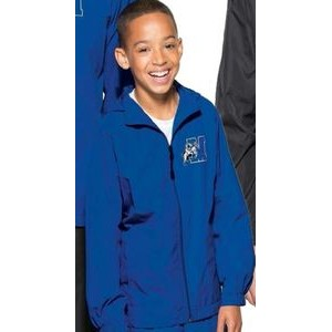 Sport-Tek® Youth Hooded Raglan Jackets