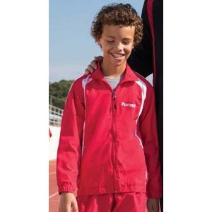 Sport-Tek® Youth Colorblock Raglan Jackets