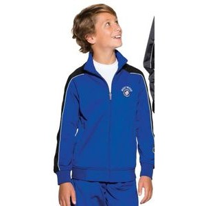 Sport-Tek® Youth Piped Tricot Track Jackets