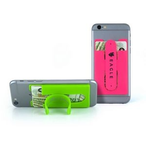 Silicone Wallet Phone Stand