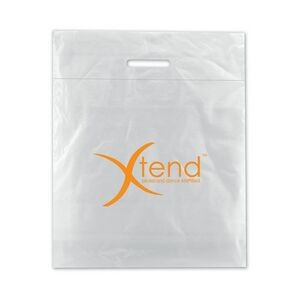 "Low Density Fold Over Die Cut Bag (15""x19""x3"")"