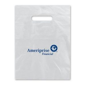 "Low Density Fold Over Die Cut Bag (9""x12"")"