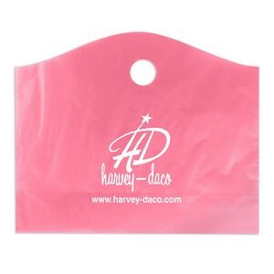 "Frosted Super Wave Handle Bag (22""x18""+8"") (Flexo Print)"