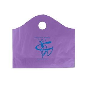 "Frosted Super Wave Handle Bag (18""x15""+6"") (Flexo Print)"