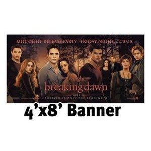 Full Color Banner 4'x8' - Vinyl