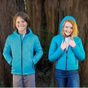 Youth Hooded Puffer Jacket