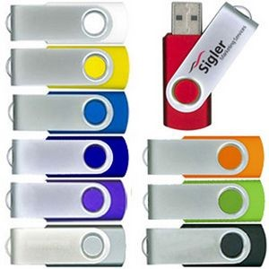 Swivel USB Drive in a Wide Variety of Colors - USB 3.0 - 32 GB