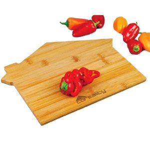 BistroTek™ House Shaped Bamboo Cutting Board