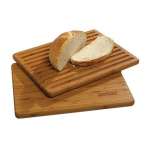 BistroTek™ Flip-It Bamboo Cutting and Bread Board