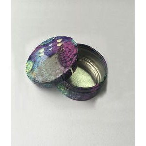 Small Round Clicker Tin/ Tin Box/Candy Box/Dog Food container/Pill Box