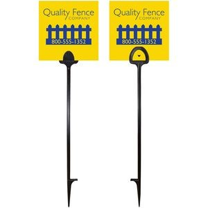 "6"" x 6"" Value Marking Signs - Two Color, Front & Back"