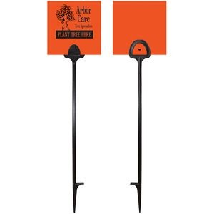 "5"" x 5"" Value Marking Signs - Two Color Front & Solid Color Back"